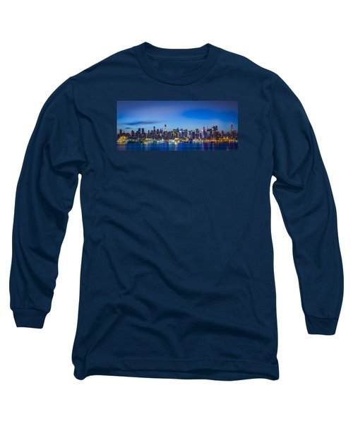 Skyline Nyc Before Sunrise Long Sleeve T-Shirt