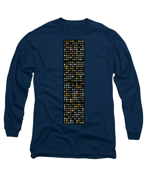 Skyscraper Abstract L Long Sleeve T-Shirt