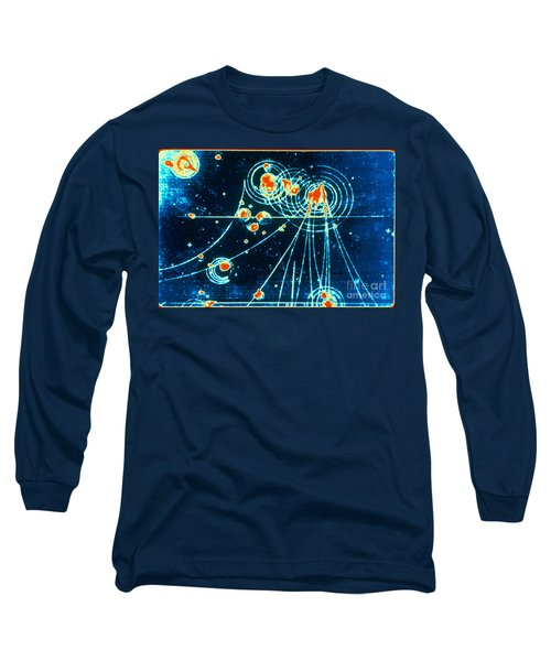 Slac Bubble Chamber Long Sleeve T-Shirt