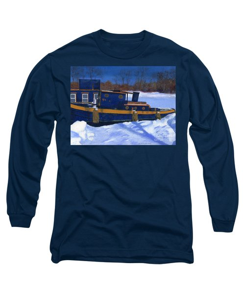 Sleeping Barge Long Sleeve T-Shirt