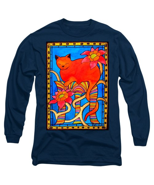 Sleeping Beauty By Dora Hathazi Mendes Long Sleeve T-Shirt