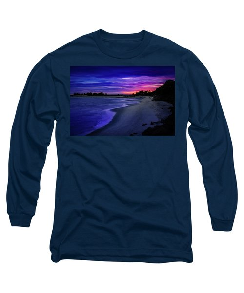 Slow Waves Erupting Clouds Long Sleeve T-Shirt