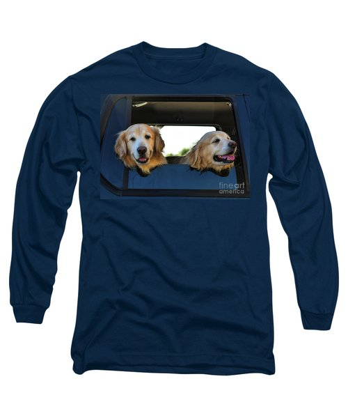 Smiling Dogs Long Sleeve T-Shirt