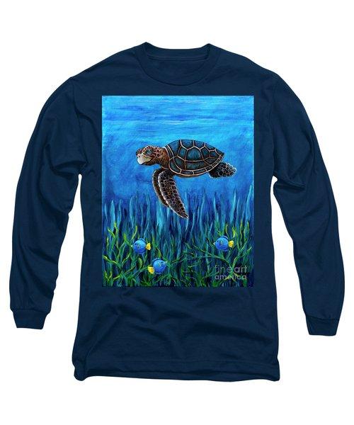 Smirking Turtle Long Sleeve T-Shirt