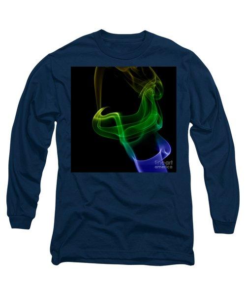 Long Sleeve T-Shirt featuring the photograph smoke XXIV by Joerg Lingnau