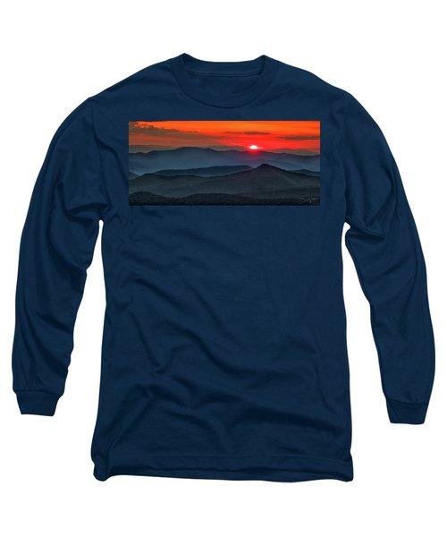 Smokies Sunset Long Sleeve T-Shirt
