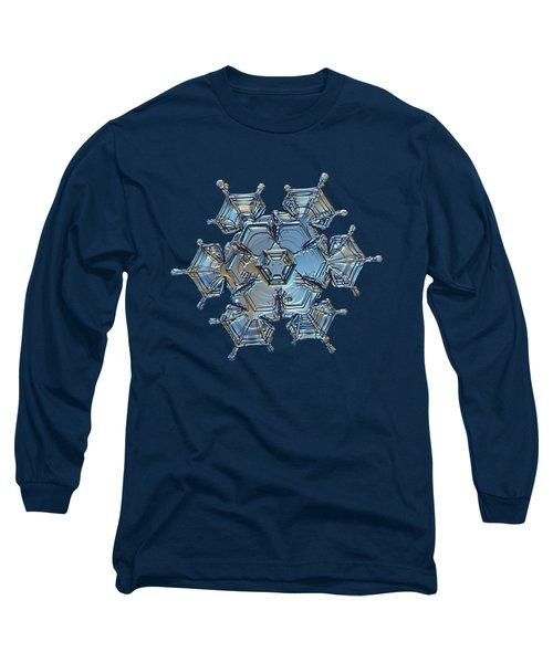 Snowflake Photo - Flying Castle Long Sleeve T-Shirt