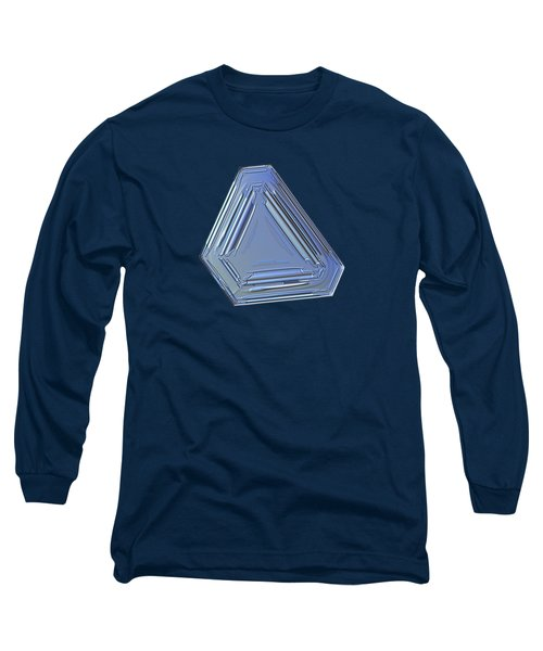 Snowflake Photo - Four Directions Alt Long Sleeve T-Shirt by Alexey Kljatov