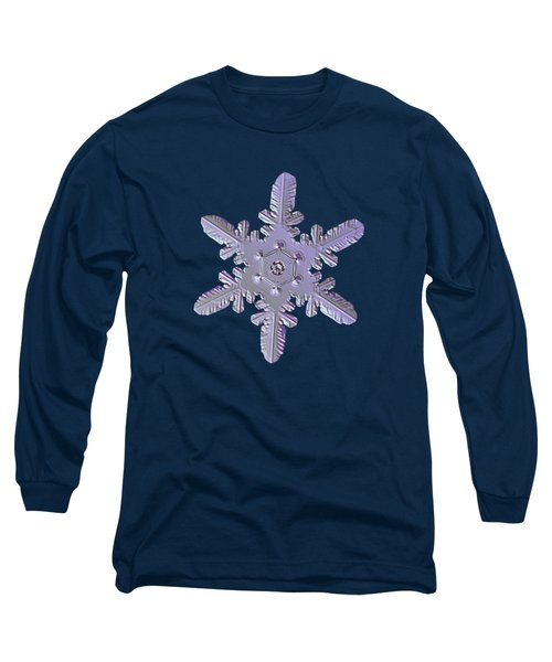 Snowflake Photo - Heart-powered Star Long Sleeve T-Shirt