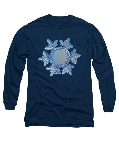 Snowflake Photo - Sunflower Long Sleeve T-Shirt