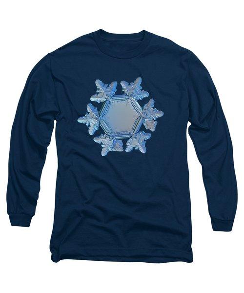 Snowflake Photo - Sunflower Long Sleeve T-Shirt