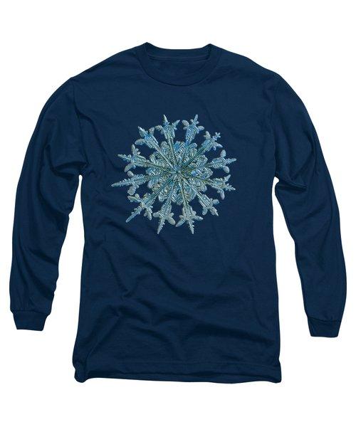 Snowflake Photo - Twelve Months Long Sleeve T-Shirt by Alexey Kljatov