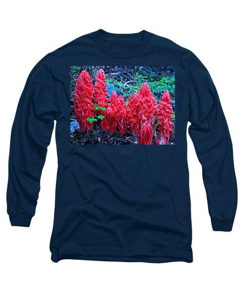 Snowflower Pow Wow Long Sleeve T-Shirt