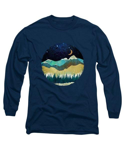 Snowy Night Long Sleeve T-Shirt