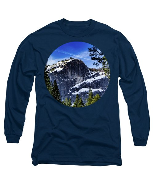 Snowy Sentinel Long Sleeve T-Shirt