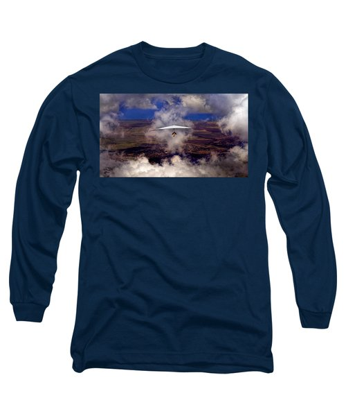 Soaring Through The Clouds Long Sleeve T-Shirt