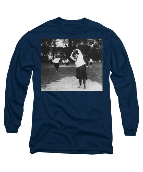 Softball Game Long Sleeve T-Shirt