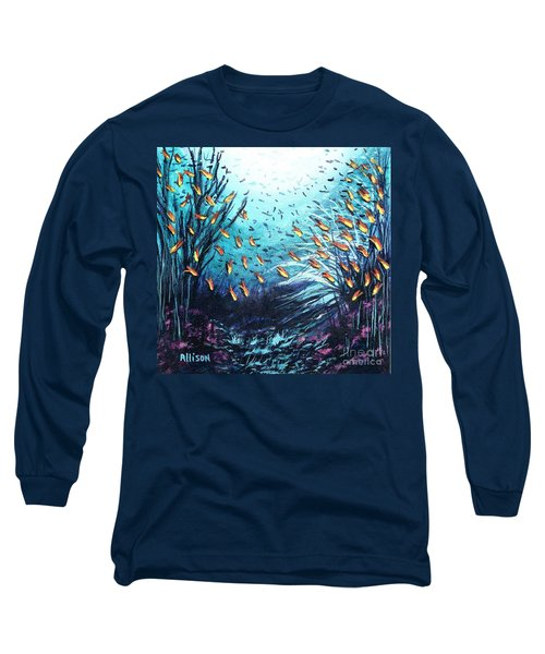 Soldier Fish And Coral  Long Sleeve T-Shirt
