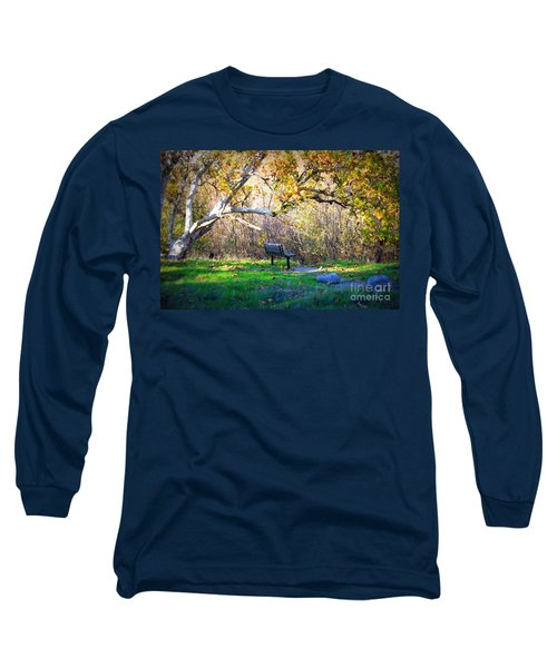 Solitude Under The Sycamore Long Sleeve T-Shirt