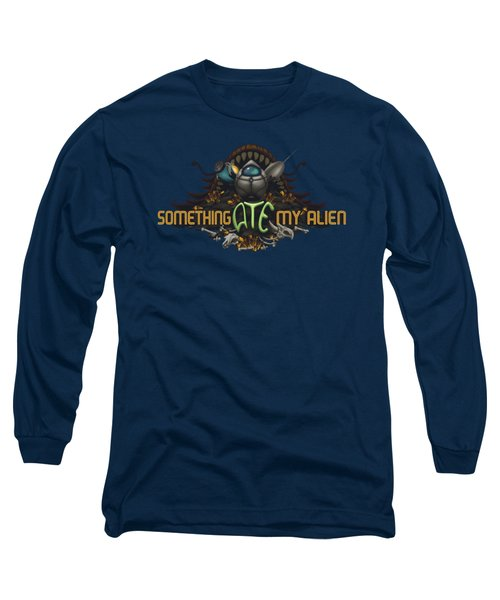 Something Ate My Alien #2 Long Sleeve T-Shirt