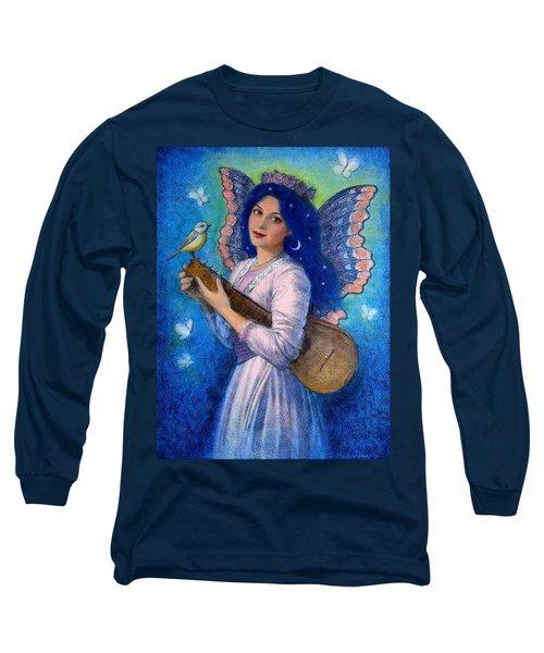 Songbird For A Blue Muse Long Sleeve T-Shirt