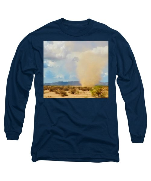 Sonoran Desert Dust Devil Long Sleeve T-Shirt