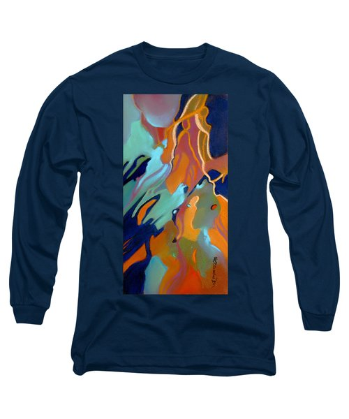 Long Sleeve T-Shirt featuring the painting Source by Rae Andrews