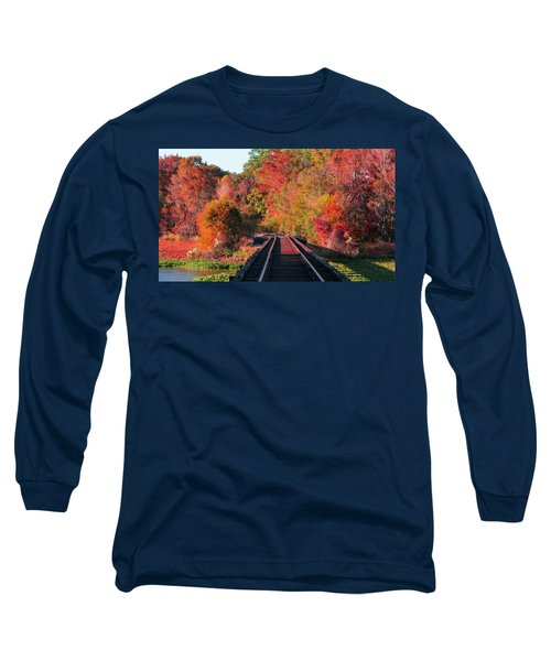 Southern Fall Long Sleeve T-Shirt by RC Pics
