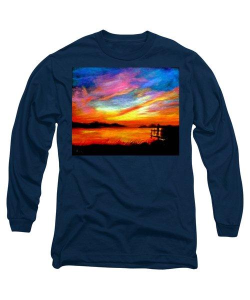 Southern Sunset Long Sleeve T-Shirt by Gail Kirtz