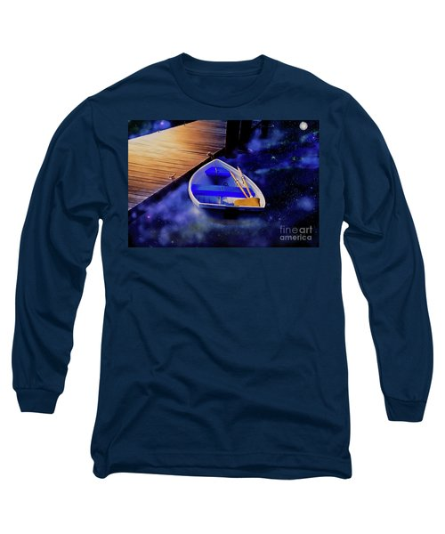 Space Boat Long Sleeve T-Shirt