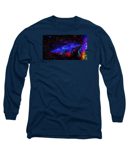 Space-time Continuum Long Sleeve T-Shirt by Mike Breau