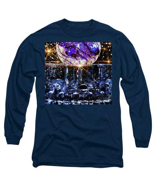 Sparkling Glass Long Sleeve T-Shirt