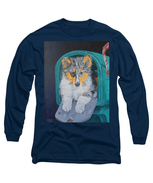 Special Delivery Long Sleeve T-Shirt by Wendy Shoults