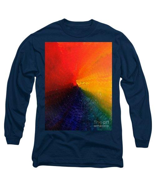 Spectral Spiral  Long Sleeve T-Shirt