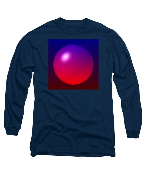 Long Sleeve T-Shirt featuring the digital art Sphere by Lyle Hatch
