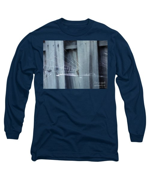 Long Sleeve T-Shirt featuring the photograph Spider Web by Megan Dirsa-DuBois