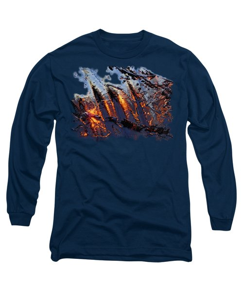 Spiking Long Sleeve T-Shirt by Sami Tiainen