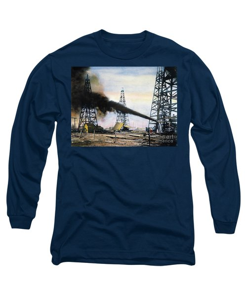 Spindletop Oil Pool, C1906 Long Sleeve T-Shirt