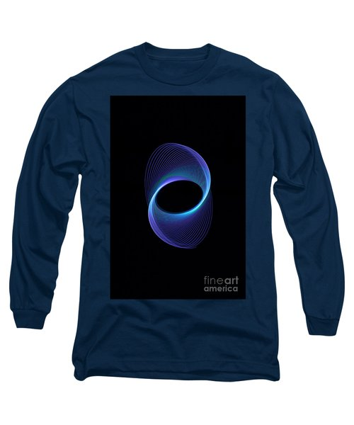 Spiral Abstract Long Sleeve T-Shirt