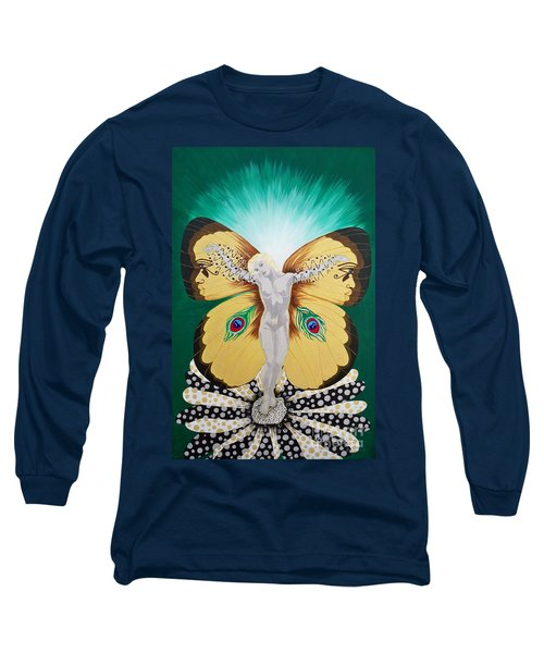 Blaa Kattproduksjoner             Spirit Of Aurelias Flight Long Sleeve T-Shirt