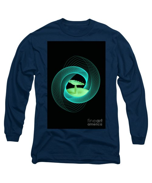 Spirograph Water Drop Long Sleeve T-Shirt