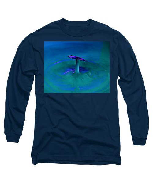 Long Sleeve T-Shirt featuring the photograph Splash Frozen In Time by James Sage