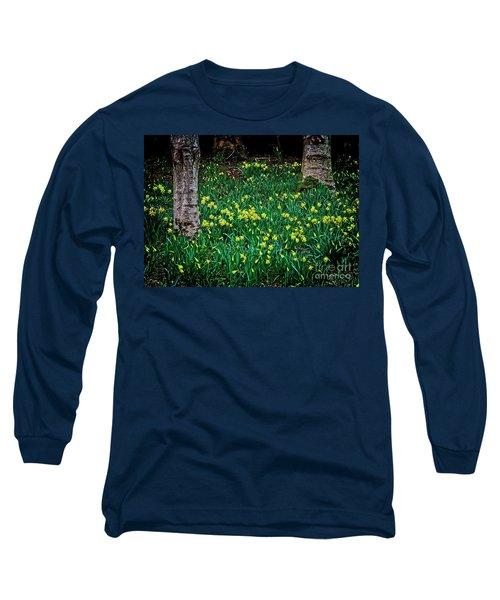 Spring Daffoldils Long Sleeve T-Shirt