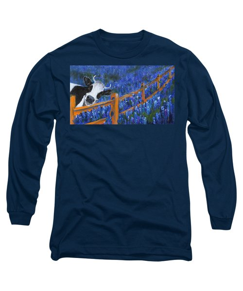 Long Sleeve T-Shirt featuring the painting Spring Has Sprung by Jamie Frier