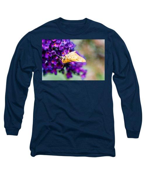 Spring Moth Long Sleeve T-Shirt