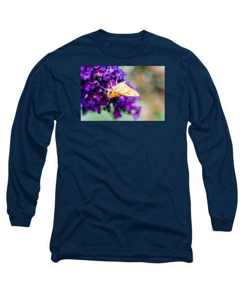 Spring Moth Long Sleeve T-Shirt