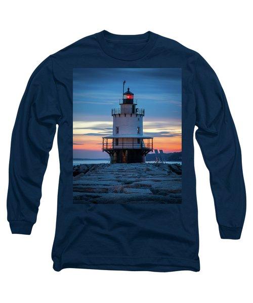 Spring Point Ledge Light Blue Hour II Long Sleeve T-Shirt