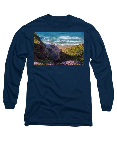 Springtime In Cornwall Long Sleeve T-Shirt