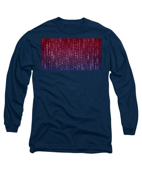 Square Code Long Sleeve T-Shirt by Anton Kalinichev