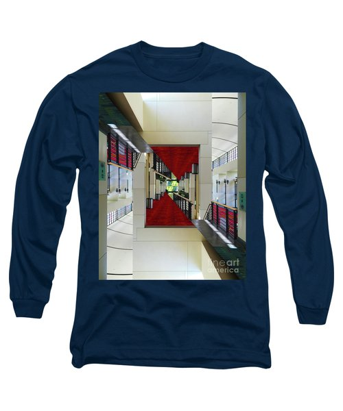 Squares Long Sleeve T-Shirt by Brian Jones